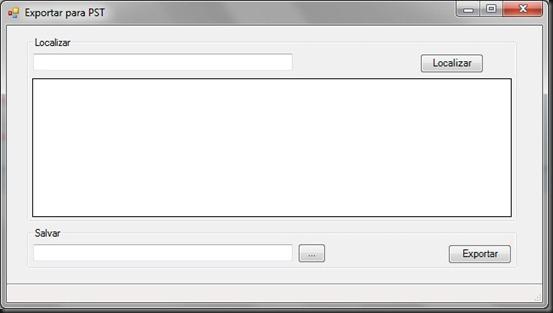 Exportar mailbox para PST