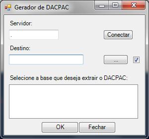 gerador de dacpac v2